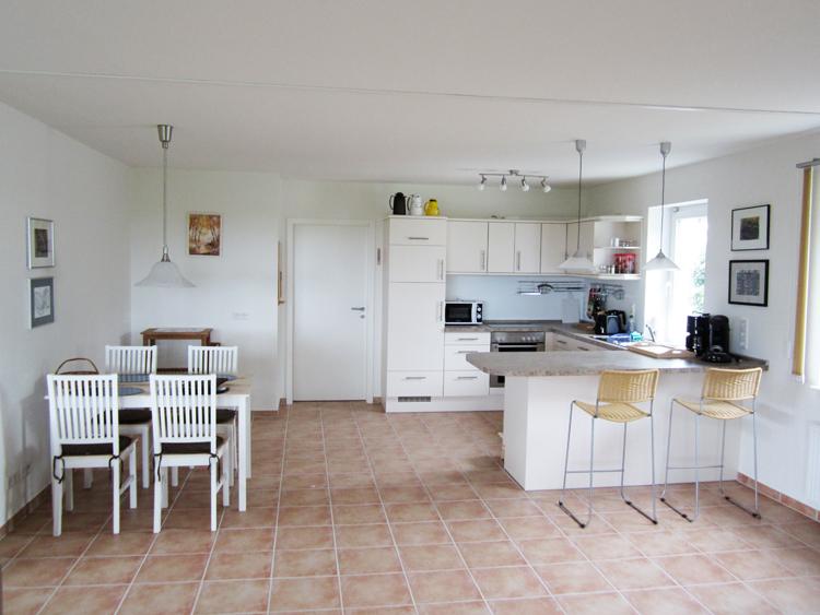 offenes wohnzimmer küche:offene küche wohnzimmer boden : Der offene Wohnbereich mit Küche